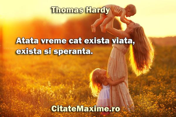 citate speranta Atata vreme cat exista viata, exista si speranta. – Citate Maxime citate speranta